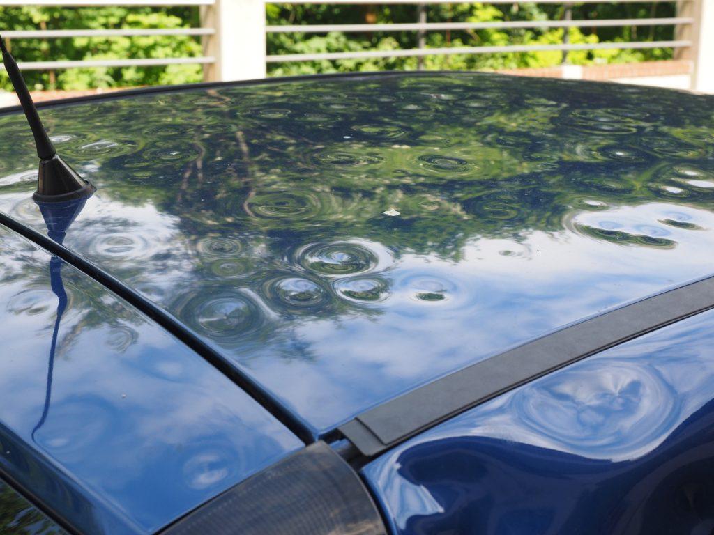 Ремонт крыши автомобиля